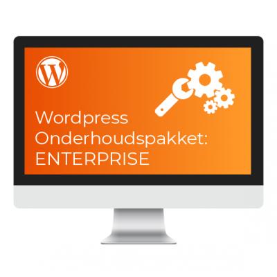 Wordpress Onderhoudspakket Enterprise