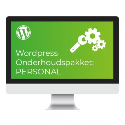 Wordpress Onderhoudspakket Personal