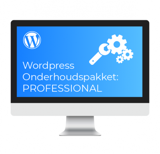 Wordpress Onderhoudspakket Professional